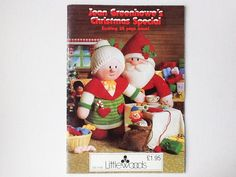 Christmas Knitted Toys Pattern Booklet Jean by PrettyHappyVintage