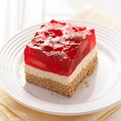 Strawberry-Cream Cheese Dessert Recipe