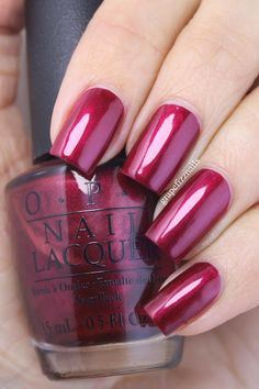 grape fizz nails: OPI Holiday Glams In The Bag 2014