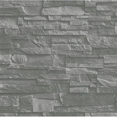 Washington Wallcoverings Factory II 33' x 20.5'' Brick, Wood and Stone 3D Embossed Roll Wallpaper - Walmart.com