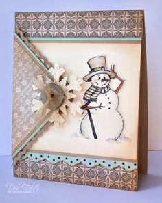 With a Stamp and a Song: March of the Snowmen!
