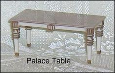 Palace Table Petite Princess  Ideal  Dollhouse Furniture on Etsy, $10.75