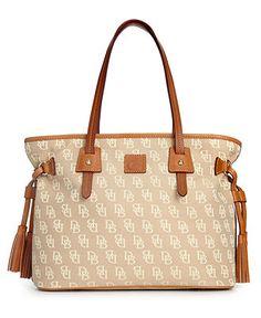 Dooney & Bourke Handbag, Davis Tassel Shopper - Handbags & Accessories - Macy's
