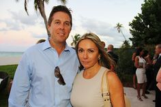 Property Markets Group Hosts Broker Event At Sage Beach. | MetroCitizen Magazine. Joe Dupree, Ana Tajes.
