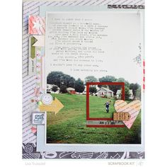 love this // made with the @Abbey Adique-Alarcon Phillips Mounier Calico VALLEY HIGH scrapbook kit