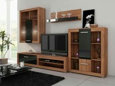 Living Room Furniture Collection U0027u0027Vikiu0027u0027 Including: TV Cabinet, Wall  Cabinet, Bookshelf And A Wall Cupboard.