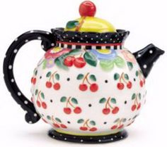 My most favorite Mary Engelbreit teapot ever