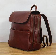 Gray leather backpack bag/leather bag/handbag/tote bag/handmade ...