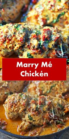 MARRY Welcome readers i'll share the writing of all meals recipes that would possibly be straight practiced at your home WHAT IS MARRY ME CHICKEN? It is hen chests sauteed in olive oil and organized with salt and pepper. Popular Recipes, New Recipes, Dinner Recipes, Cooking Recipes, Healthy Recipes, Delicious Recipes, Yummy Food, Sicilian Chicken Recipe, Marry Me Chicken Recipe