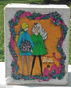 60's dolls | Vintage 60's Barbie Doll Case | eBay