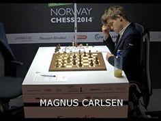 Ajedrez Noruega 2014 - Super Torneo Ajedrez Noruega 2014 Ajedrez Carlsen Svidler - YouTube