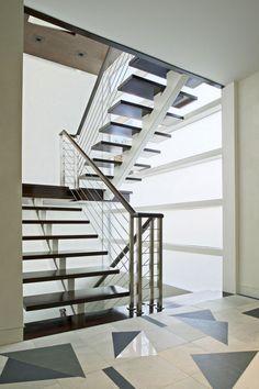 Stairs : Amazing house in Atlantic Beach, Nueva York by Belmont Freeman Architects displayed on Blog de Casas
