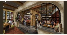 Terralina Crafted Italian Will Bring Authentic Italian Flavors To Disney Springs Http Www Disney World Restaurants Disney Springs Walt Disney World Vacations