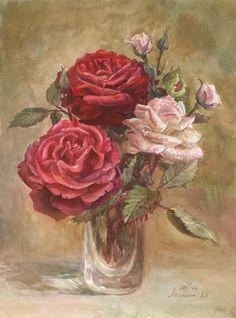 акварель цветы - Google'da Ara