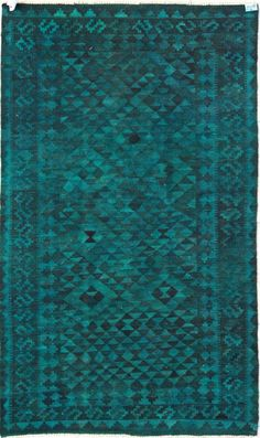 Rugs USA Overdye Cameron Teal Rug.  60% off Memorial Day sale.