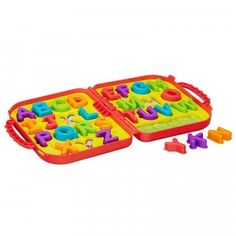 Learn your ABCs on the go with the Playskool Sesame Street Elmo's on the Go Letters.