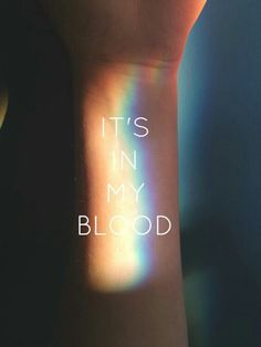 #LGBT It's in my blood