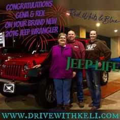 Rex & Gena's new Jeep Wrangler!