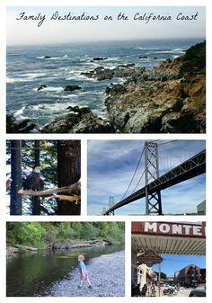 Enjoy these family destinations on the California coast!