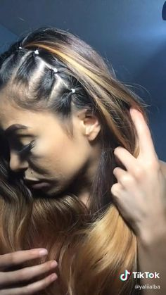 Hair Up Styles, Medium Hair Styles, Natural Hair Styles, Natural Beauty, Easy Hairstyles For Long Hair, Braided Hairstyles, Cool Hairstyles, Baddie Hairstyles, Halloween Hairstyles
