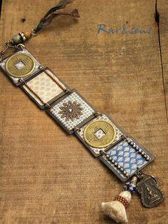 Bracelet bohème-vintageHippie d'Asieimprimés vintage