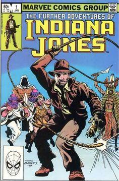 The Further Adventures of Indiana Jones; V1, 1. NM. Jan 1983. Marvel Comics