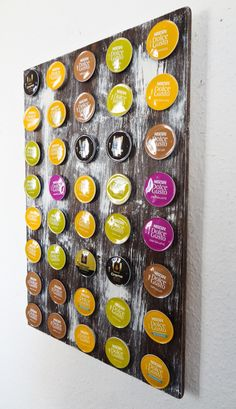 Dolce gusto on pinterest decaf coffee gourmet foods and coffeemaker - Rangement dosette dolce gusto ...