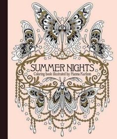 Booktopia has Summer Nights Coloring Book, Daydream Coloring Series by Hanna Karlzon. Buy a discounted Hardcover of Summer Nights Coloring Book online from Australia's leading online bookstore. Umea, Adult Coloring Pages, Coloring Books, Colouring, Hanna Karlzon, Flock Of Birds, Markova, Fantasy Drawings, Underwater Creatures
