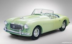 1951 Nash-Healey LeMans Alloy Roadster Young Americans fell in love w a new breed of sports car after WWII & small, independent automakers such as Nash & Kaiser were the first to realize this was more than a passing fad. Just 104 first series, alloy-bodied Nash-Healey LeMans Roadsters were originally built, & few survive today....
