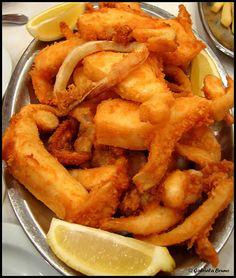 Choco frito de Setubal, Portugal - Better than Squid! Simply beautiful!