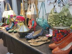 Shoes and handbags!