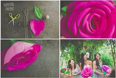 Crêpe Paper Flowers - Julep Blog - Julep Beauty Buzz