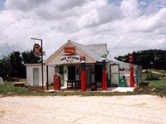 Old gas station  Nix, TX      http://www.texasescapes.com/TexasHillCountryTowns/Nix-Texas.htm