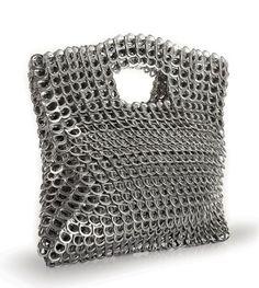 Aluminum Tab Handbags. Love this, can't make it.......but love it
