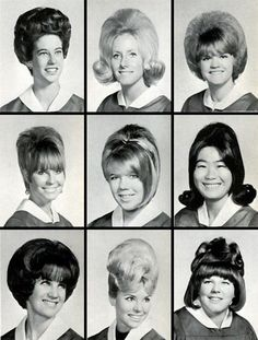Watch out for that hair! Class of '67.