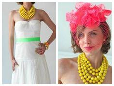 Painel de inspiração neon + Casamento | Andrea Velame Blog