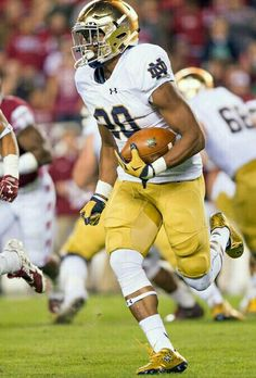 C.J. PROSISE NOTRE DAME WIDE RECEIVER