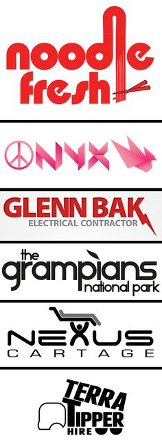My Logo round-up from 2011.