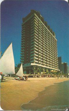 acapulco (méxico) el hotel paraiso marriot - li - Comprar Postales antiguas de América en todocoleccion - 60572579