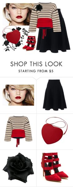 """bella mia"" by svcat88 ❤ liked on Polyvore featuring Lands' End and Rosie Assoulin"