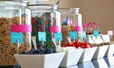 Cereal Buffet Bar | Create a Cereal Bar at Your Next Brunch Bash | Francesca Borgognone ...