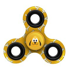 Disney Pluto Fidget Diztracto Three Way Spinner - Printed **PREORDER - SHIPS IN MID JULY**