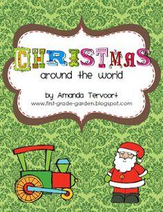 First Grade Garden: Christmas Around the World and Elf on the Shelf!