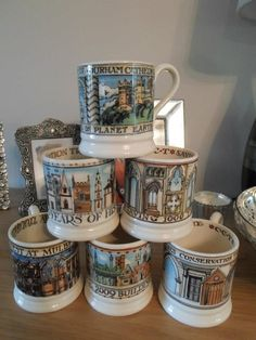 Collection of Buildings Mugs