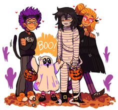 oof can you draw the dadzawa family in their halloween costumes since its currently spooky month? What a cute request! The whole family takes Eri out trick or treating because she needs time to be a. Boku No Hero Academia, My Hero Academia Memes, Hero Academia Characters, My Hero Academia Manga, Film Anime, Familia Anime, Aizawa Shouta, Dibujos Cute, Fandoms