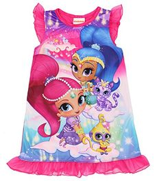 Nick Jr Shimmer And Shine and Pets Nightgown for Little Girls 6 * You can get additional details at the image link.Note:It is affiliate link to Amazon.