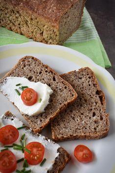 Semínkový celozrnný žitný chléb – PEKÁRNOMÁNIE Meatloaf, Banana Bread, Food And Drink, Desserts, Deserts, Dessert, Postres, Food Deserts