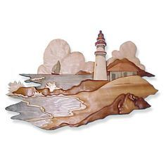 Woodworking Patterns Seascape Intarsia Pattern - by Bruce Worthington 60 pieces All patterns are printed on velum and accompanied by a color picture. Visit Bruce Worthington's free ebook Intarsia 101 - A Beginners Guide to Wood Inlay. Intarsia Woodworking, Woodworking Box, Woodworking Patterns, Woodworking Workshop, Woodworking Projects Plans, Woodworking Furniture, Bois Intarsia, Intarsia Wood Patterns, Wood Mosaic