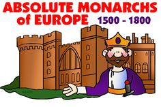 mrdonn.org - Absolute Monarchs of Europe - Free Powerpoints, Games, Lesson Plans, Activities