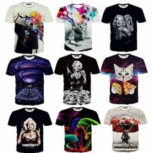 2015 Newest galaxy space printed creative t shirt 3d men's tshirt summer novelty 3D feminina psychedelic tee shirts clothes     Tag a friend who would love this!     FREE Shipping Worldwide     #Style #Fashion #Clothing    Get it here ---> http://www.alifashionmarket.com/products/2015-newest-galaxy-space-printed-creative-t-shirt-3d-mens-tshirt-summer-novelty-3d-feminina-psychedelic-tee-shirts-clothes/